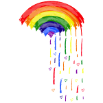 Love Rainbow Rain ss