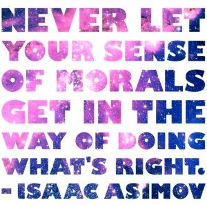 Isaac Asimov: Morals
