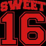 Sweet 16 birthday sixteen