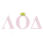 Crown Pink Letters