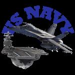 Hornet Over Carrier