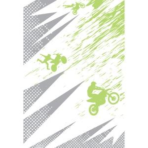 Motocross Dirt Bike Deco