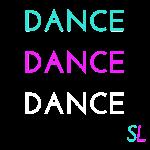 Colorful DANCE T shirt