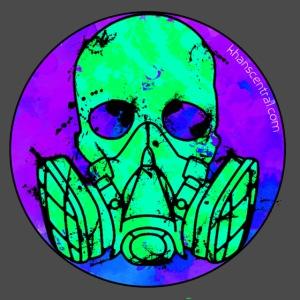 Retro Khan Skull