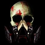 Blood Skull Large