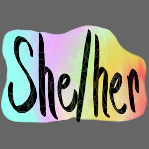 She/Her 1 - Small (Nametag)