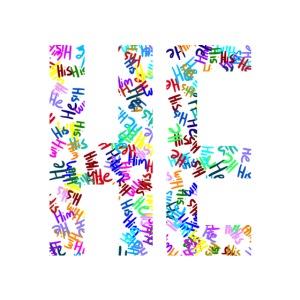 "He/Him/His Pattern ""He"""
