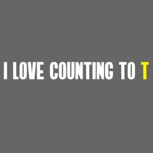 Ultimate Frisbee T-Shirt: Funny Stall Count Joke
