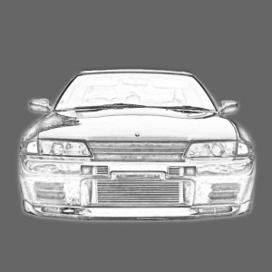 Skyline GTR Front View