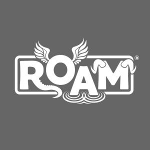logo ROAM 7 01 white png