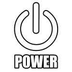 power symbol outline