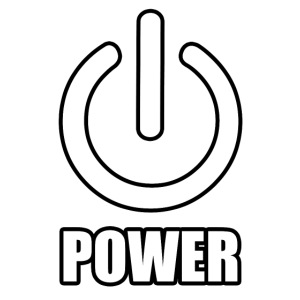 power symbol outline