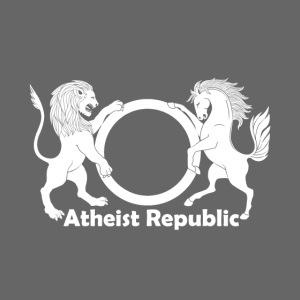 Atheist Republic Logo - White