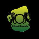 Atheist Republic Logo - Yellow & Green Paint