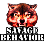 Savage Behavior Red and Black