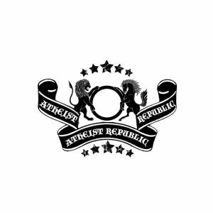 Atheist Republic Logo - Banner & Stars