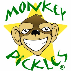 Monkey Pickles Logo Hoody