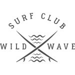 Surf Club Wild Wave Logo