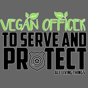 vegan officer