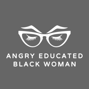Angry Educated Black Woman Official Logo