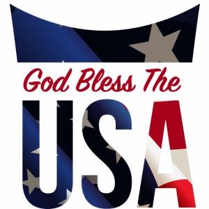 God Bless The USA Veterans T-Shirts