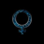blue retro rusted grunge icon symbols shape