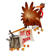 Out Of Order Thanksgiving