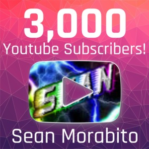 Sean Morabito's 3000 Sub's Logo