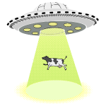 ufo cow