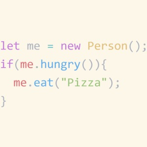 Pizza Code - Colored Version
