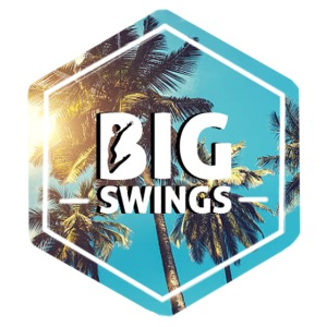 Big Swings Palm Tree Logo Design