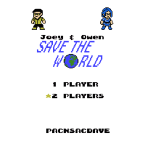 Joey & Owen Save the World Title Screen (2 Player)