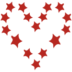 starsweirdheartoutlinenoskulls