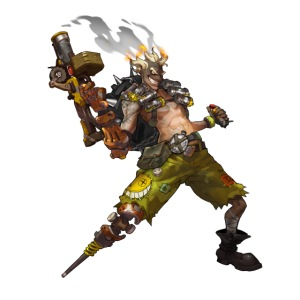 junkrat overwatch drawn by arnold tsang 2baffe0