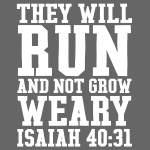 Christian Runner Bible Verse