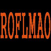 ROFLMAO by MYBLOGSHIRT.COM