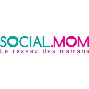 Social.mom logo français