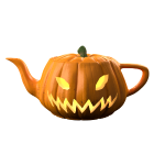 jack-o-lantern teapot
