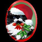 TUXEDO KITTY CHRISTMAS