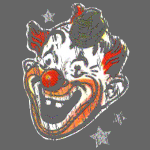 Retro Halloween Clown Mask