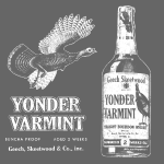 Yonder Varmint Whiskey - Worn
