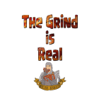 The Grind is Real Logo