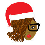 Locs Natural Hair Santa