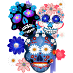 3 Skulls-Day Of The Dead