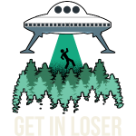 Get In Loser, enlèvement extraterrestre