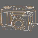 Camera Sketches - Voigtlander Synchro Compur