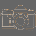 Camera Sketches - Ricoh Singlex TLS