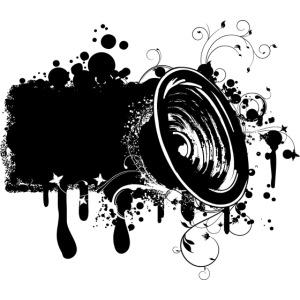 Funky Grunge Speaker