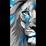 Blue lion king