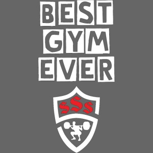 Best Gym Ever White and Red